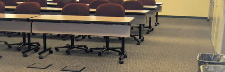 Access Flooring Solution for Conference and Training Rooms