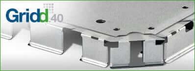 Raised access flooring gridd components