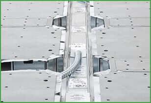 Gridd Power allows energy efficient raised access floor