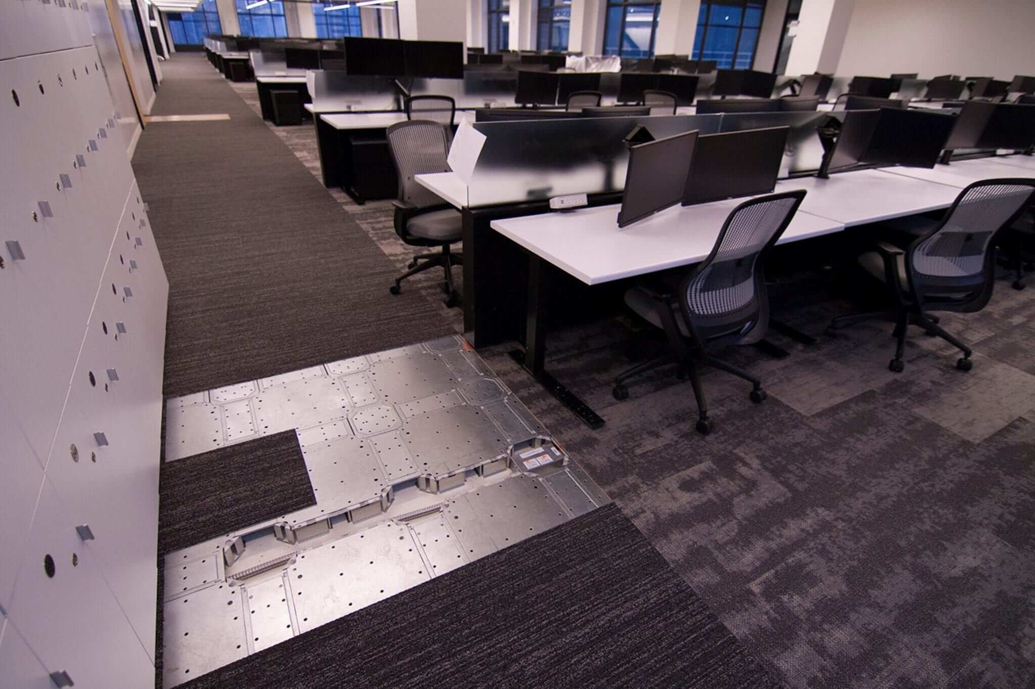 Low Profile Commercial Offices Raised Flooring