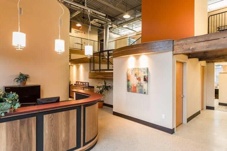 Class A Office Space Access Flooring