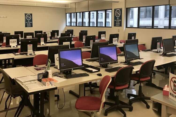 Computer Lab Access Flooring