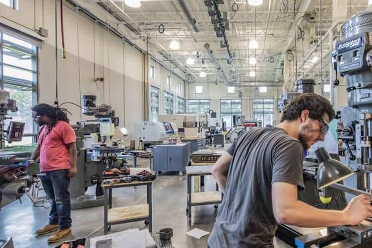 Manufacturing Center Flooring