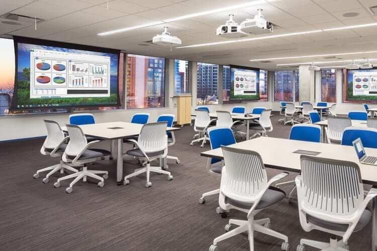 Training Room Access Flooring