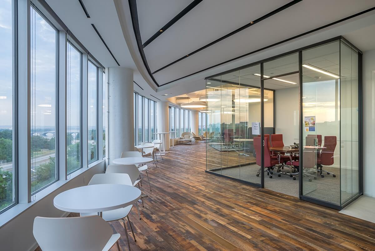 raised floor commercial offices