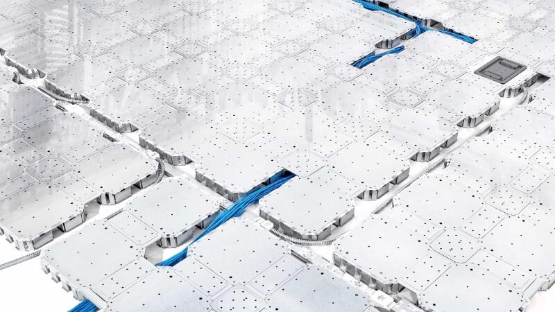 gridd raised floor system