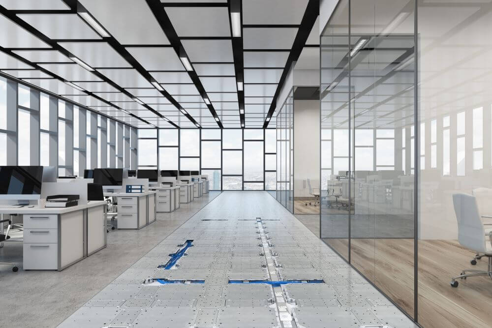 smart building system and cable management